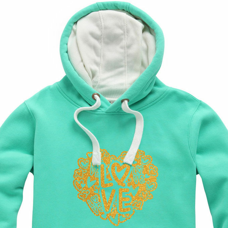 Glitter Graffiti Love Heart