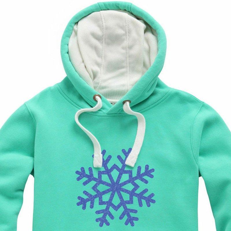Glitter Regal Blue Snowflake